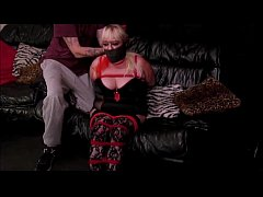 Hogtied & Blindfolded