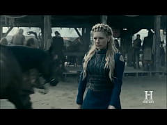 Vikings S5 lagertha Sex scene
