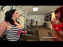 Huge Titted Angelina Castro Fucked by Muscular Babe!