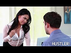 Boss Asian Cindy Starfall eating cum after fucking