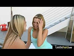 Sex Tape With Horny Teen Sexy Lesbo Girls (Mia Malkova & Kenna James) movie-20