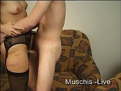 Student couple fucks on the casting couch
