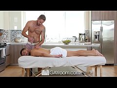 GayRoom Tight ass massage fuck with Angel Duran and Wesley Woods