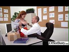 Hardcore Sex In Office With Big Round Tits Slut Girl (Lennox Luxe) clip-22