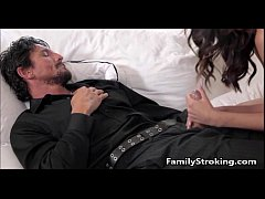 Daughter Blowjob While Step Dad Sleeps - FamilyStroking.com