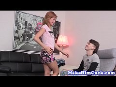 cuckolding babe banged in front of her lover
