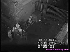 Security cam - Fucking outside part 2