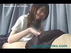 Poor Innocent Young Asian School Girl Tied Up and Fucked By Other Lesbian