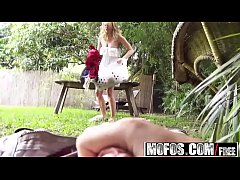 Mofos - Pervs On Patrol - (Alli Rae) - Back Yard Voyeur Sex