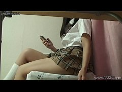 Upskirt the japanese schoolgirl teen miniskirt and panties