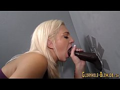 Fucked gloryhole slut