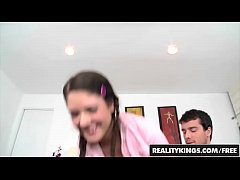 First Time Auditions - Pigtailed teen (Brittney Banxxx) does porn - Reality Kings