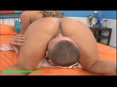 bubble butt big round ass blond gets fucked and cum on ass