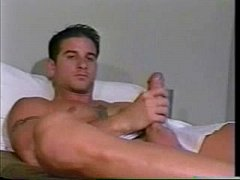 julian rios (jordan rivers) gay solo jerk off from ^choke 'em^ (1994)