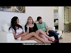 BadMILF - Jealous Stepmom Fucking Stepson And His Girlfriend