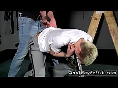 Gay bondage glasgow and frat boys first time Reece Gets Anally d