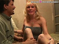 wild blonde milf fucks good