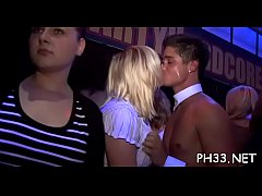 Group wild sex patty at night club jocks and pusses each where