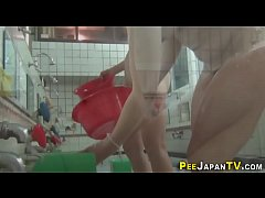 Japanese amateurs pissing