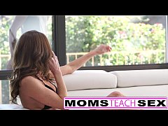 Deep hard fuck for step mom and daughter