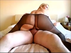 Pantyhose big ass milf gets fucked - TheCamBoss.net