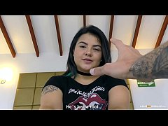 CARNE DEL MERCADO - Curvy Colombian babe fucked hardcore and facialized