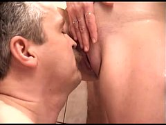 Darlings are deligthing dude with wet blow job