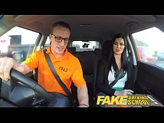 Clip sex Fake Driving School Male Learner fucking his female driving examiner