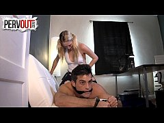 Cadence Lux Pegging Lance Hart HARD STRAP-ON FEMDOM