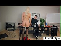 (Christina Shine) Busty Office Girl Enjoy Hard Intercorse clip-10