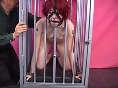 Kitten Young Nerd Girl In Bondage