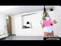 (Charlotte Stokely & Kenna James) Superb Horny Lesbians Have Fun In Front Of Cam mov-06