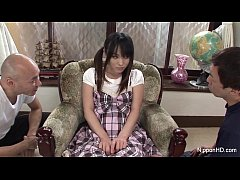 Asian schoolgirl Toyed hard