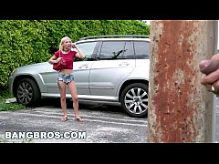 BANGBROS - Stalking Teen Kenzie Reeves and Giving Her Some Rough Sex