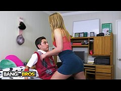 BANGBROS - Juan El Caballo Loco Gets Tour Of Daisy Stone's College Pussy