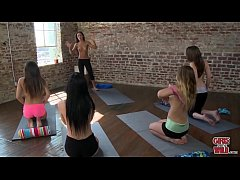GIRLSGONEWILD - Perfect Young Teens With Flawless Bodies Doing Yoga