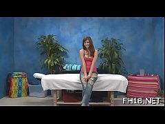 Hot 18 year old sweetheart gets drilled hard by her massage therapist