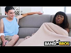BANGBROS - Brown Bunnies Babe Ana Foxxx Fucks Her Horny Step Brother