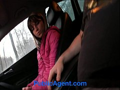 PublicAgent Petite Nympho Jenna Fucked in my Car