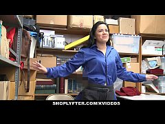 shoplyfter - teen gets humiliated by lp officer s cock