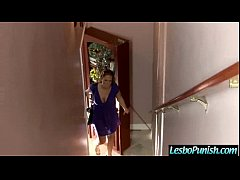 Hard Style Sex With Lesbos Using Toys In Punish Sex Scene clip-20