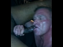 White Cock Sucker On My BBC