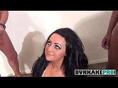 Trashy English Slut Bambi Black Suck Dicks And Gets Facialized