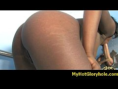 Gloryhole interracial blowjob 13