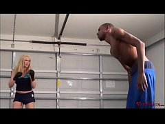 Violent Amazons - Mikaela and her Punching Bag