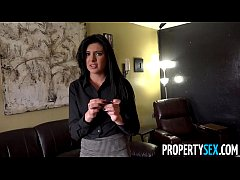 PropertySex - Pretty real estate agent with southern accent fucks her client