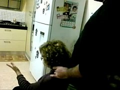 Giving his Mother-In-Law a Massage with D ...