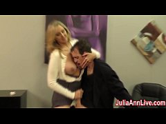 HD Sexy Milf Julia Ann Milks Him on Date Night!