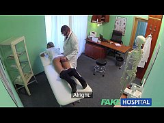 FakeHospital Naughty blonde nurse gets do ...