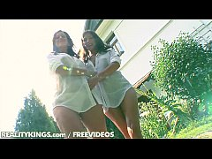 Reality Kings - Two hot euro teens in outdoor foursome